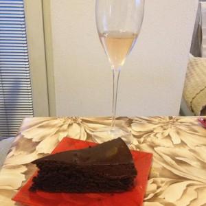 Чоколадна торта со портокал