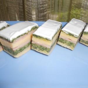 Солена декоративна торта