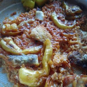 Посен ручек со пресолни пиперки