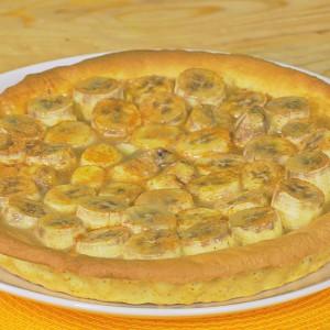 Видео рецепт: Тарт со банани