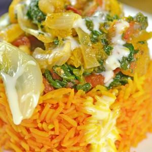 Видео рецепт: Вегетаријанско кари со наут