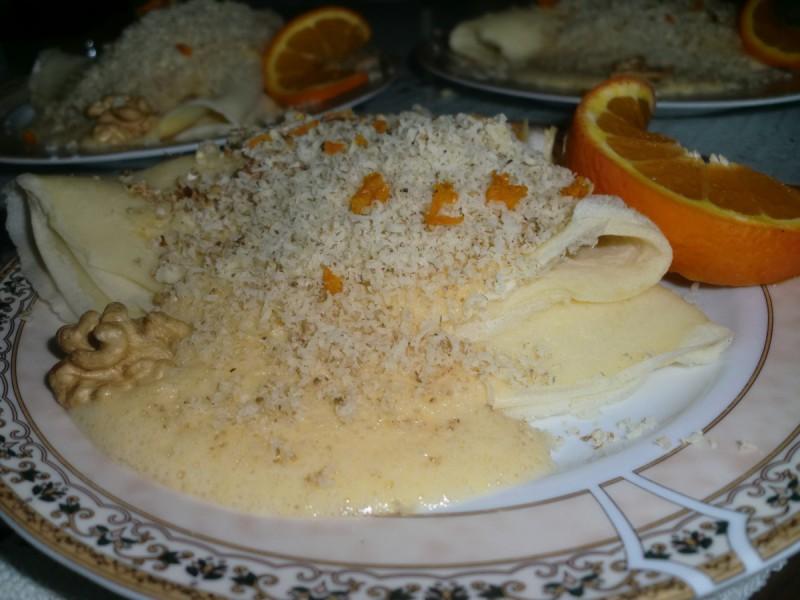CREPES SUZETTE -палачинки