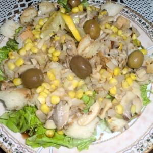 Посна, лесна и брза салата а-ла Бале