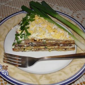 Торта со палачинки од џигер