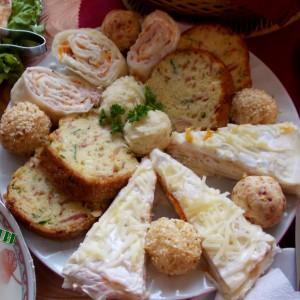 Солени декоративни палачинки