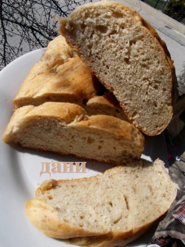 Леб од мешано брашно