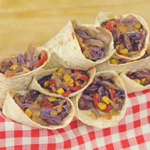 Видео рецепт: Посни Фахитас со зеленчук и туна