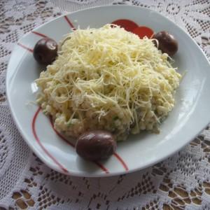 Посна салата со печурки