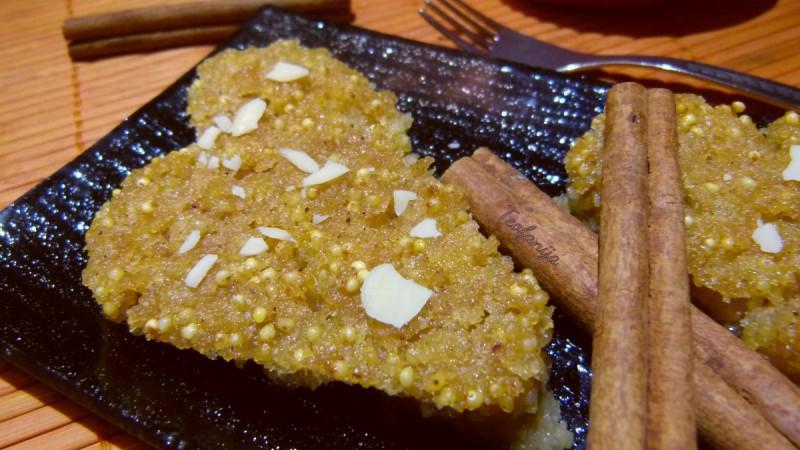 Посен колач со просо