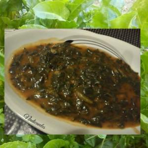 Зелен ручек со блитва и спанаќ
