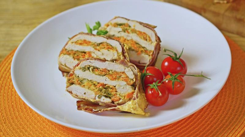 Видео рецепт: Колач од пилешко бело месо