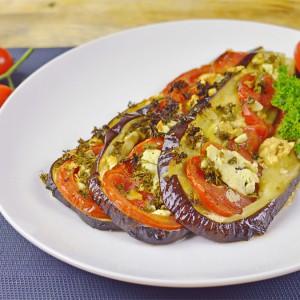Видео рецепт: Лепеза од модар патлиџан