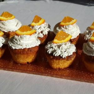 Кокос мафини со портокал