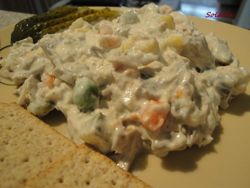 Крем салата од печурки и туна