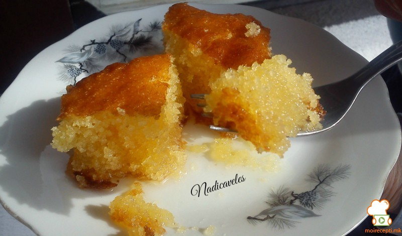 Парена торта со цимет