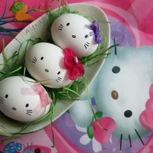 Hello kitty јајца