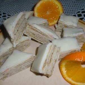 Чоко - оранж розен колач