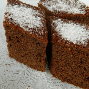 Посна чоколадна торта со тиквички