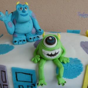 """Посна торта """"Monsters"""""""