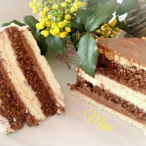 Dulce de leche торта