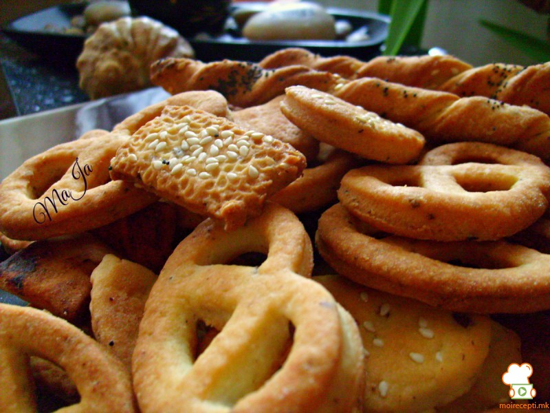 Брзи солени крекери
