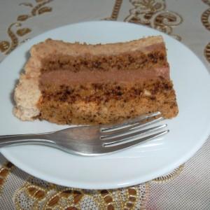 Посна торта со два фила