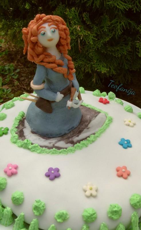 "Торта ""Brave Merida"""