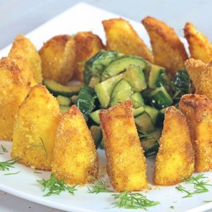 Видео рецепт: Карпести компири со презла