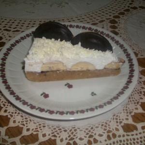 Брза торта со банани (без печење)