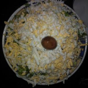 Растурена мајонез салата