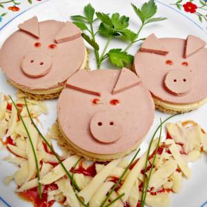 Сендвич - Трите прасенца