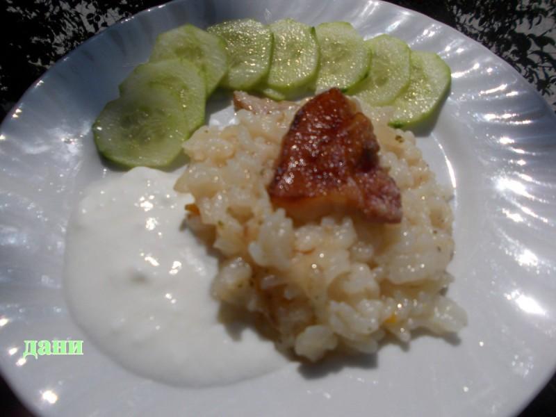 Oриз со кисело млеко