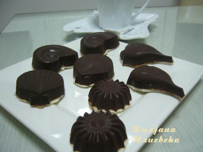 Колачиња со чоколадни наполитанки
