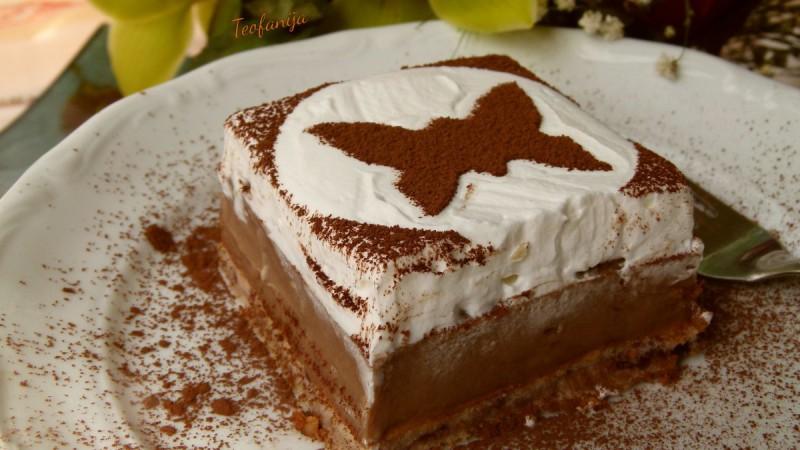 Чоко-лешник  крем колач