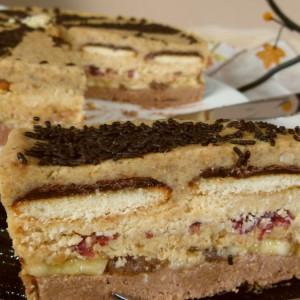 Непечена торта Изобилие