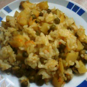 Мешан зеленчук (посно)