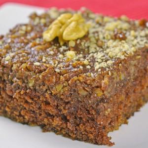Видео рецепт: Рускин чоколаден колач