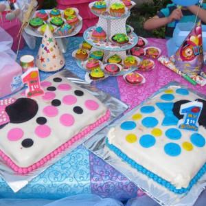 Мина и Мики роденденска торта