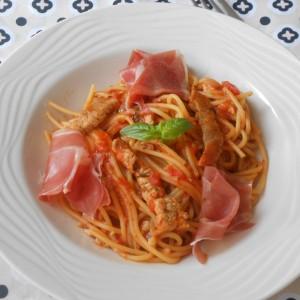 Шпагети на каталонски начин (Fideos con Picada)