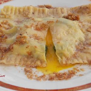 Равиола во путер со ореви