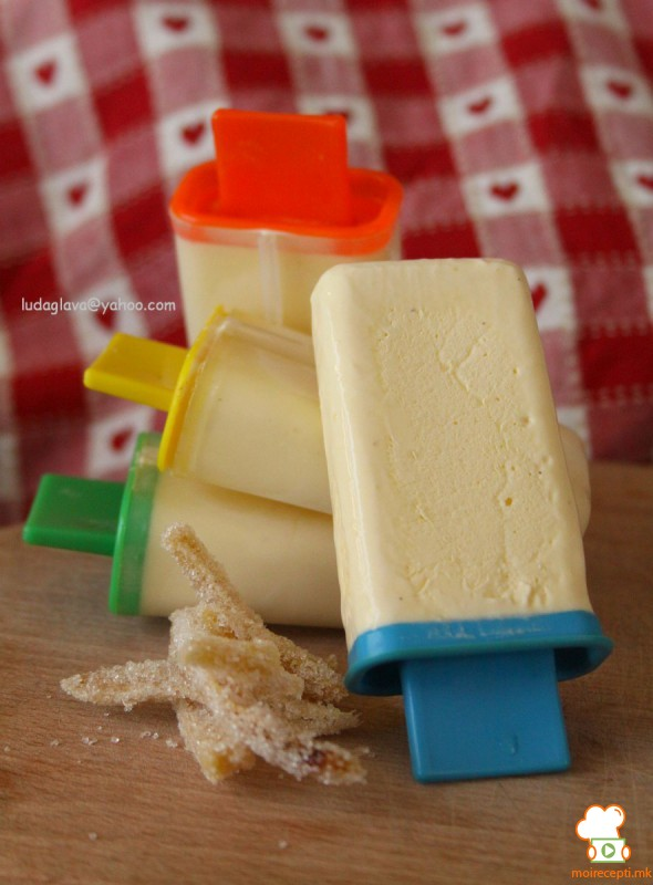 Сладолед со ѓумбир