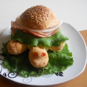 Сендвич лебчиња желки