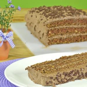 Видео рецепт: Посна чоколадна торта
