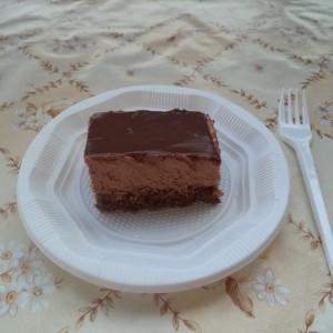 Чоколадна кремаста торта