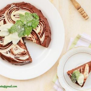 Чоколадна минт тортичка
