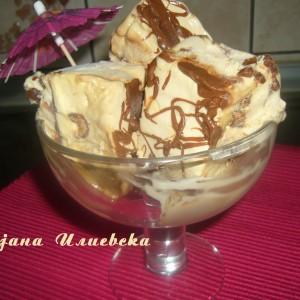 Трослоен сладолед
