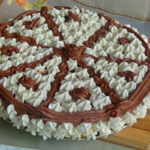 Ледолина (торта без печење и без миксер)
