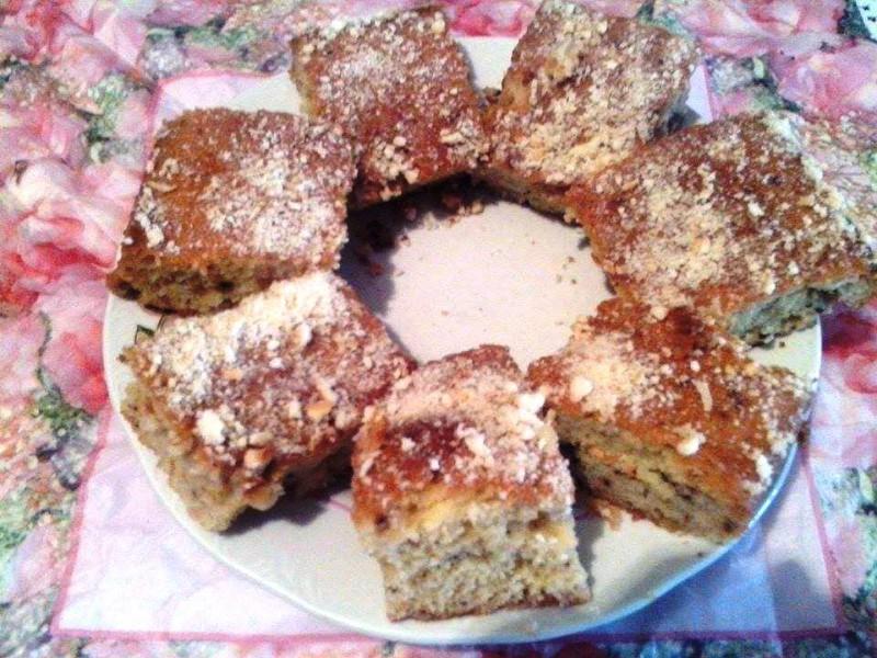 Брз и сочен колач со ореви