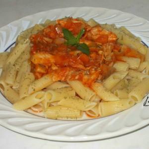Највкусните макарони со пилешко