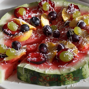 Пица лубеница (декорација)